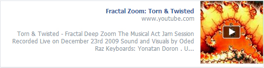 fractal zoom - torn & twisted